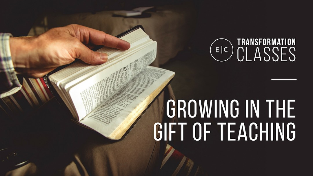 Transformation classes for growing in the gift of teaching
